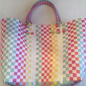 Bags - Woven Beach Bag/Tote